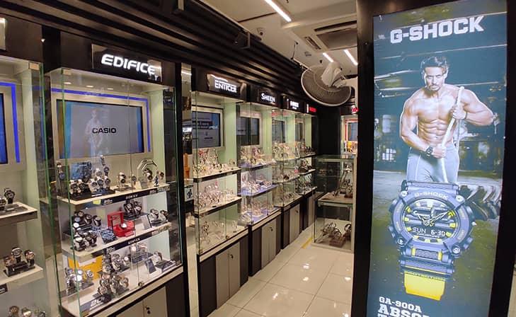 Casio Exclusive Store - Labbipet, Vijayawada