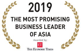 2019THE MOST PROMISING BUISNESS LEADER OF ASIA]