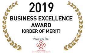 2019 BUSINESS EXCELLENCE AWARD[ORDER OF MERIT]