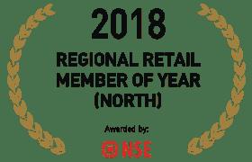 2018 REGIONAL RETAIL MEMBER OF YEAR[NORTH]