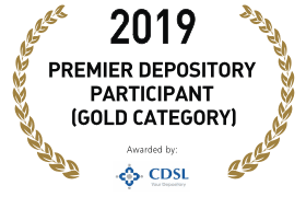 2019 PREMIER DEPOSITORY PARTICIPANT[GOLD CATEGORY]