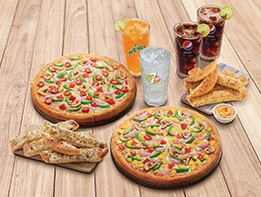 Hut Treat Meal - For 4