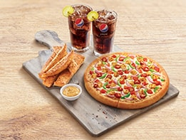 Hut Treat Meal - For 2