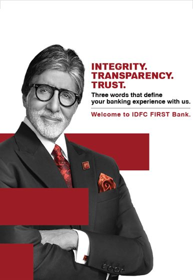 Welcome to IDFC Bank