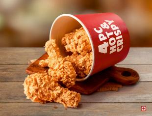 8 pc Hot & Crispy Chicken