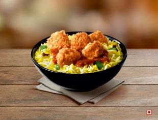 Popcorn Rice Bowl