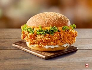 Tandoori Zinger Burger
