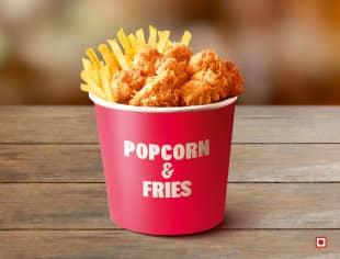 Popcorn & Fries bucket