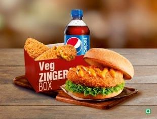 Veg Zinger Box