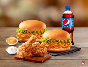 Chicken & Krispers Combo