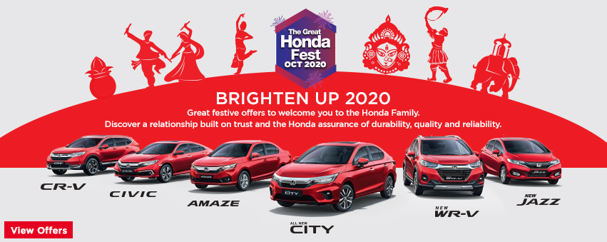 Visit our website: Honda Cars India Ltd. - Mathura Road, Agra