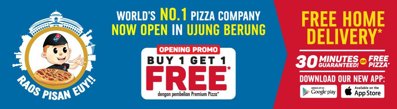 Visit our website: Domino's Pizza - Kec Cinambo, Bandung