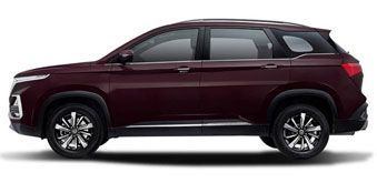 MG Hector Burgundy Red