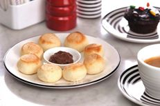 Baked Dough Balls Nutella