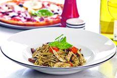 Spaghetti Pollo e Funghi
