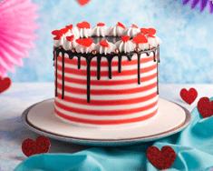 Stripy Cake