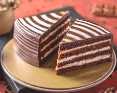 Zebra Torte Pastry