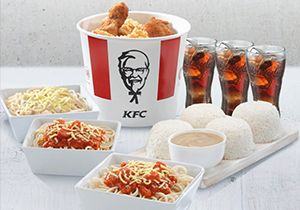 6-pc Bucket Meal with Pasta
