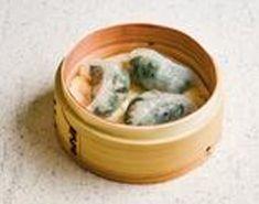 Spinach Dumplings & Shrimp (3pcs)