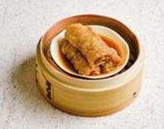 Beancurd Skin with Pork & Shrimp