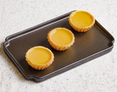 Hong Kong Style Egg Tarts (3 pieces)
