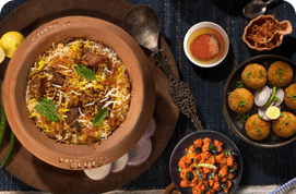 Mutton Dum Biryani Party Packs