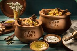Chicken Dum Biryani Handi