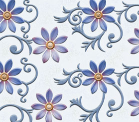 GFT SPH Cosmos Flower Blue HL