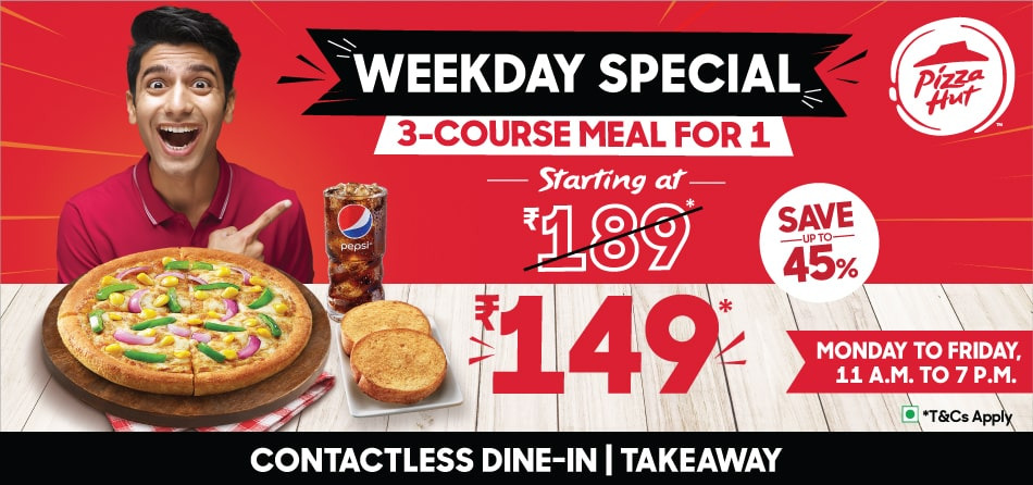 Weekday Special E Meal For 1