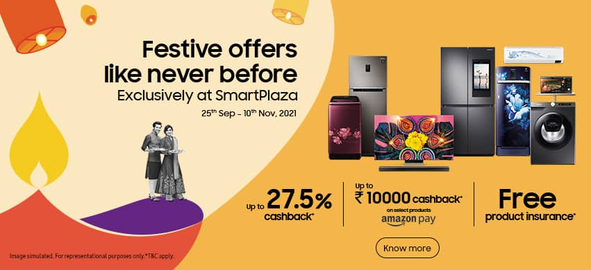 Samsung SmartPlaza - Festive offers