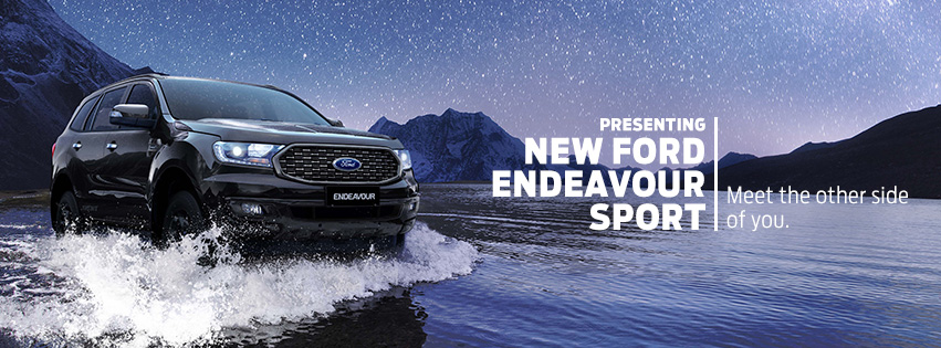 New Ford Endeavour Sport
