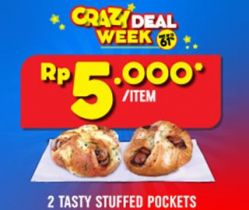 2 Stasty Stuffed Pocket 10k