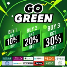 Go Green- Go Green This Month And Score High On Your Skincare Game With Best Offers And Deals