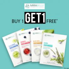 Mirabelle- Pamper Your Skin With The Boost Of Freshness: Buy 1 Get 1 Free On Sheet Masks