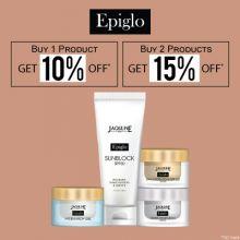 Jaqulineusa Epiglo- Discover The Epic Glow With 'upto 15% Off' On Jaqulineusa Skincare Range: Epiglo