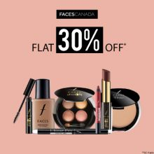 Faces Canada- Go Glam With 'flat 30% Off' Discount On Faces Canada