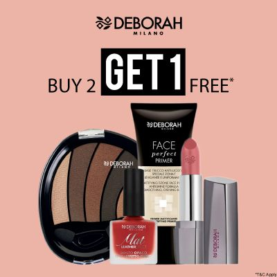 Deborah- Go Glam With 'buy2get1free' Deal On Deborah