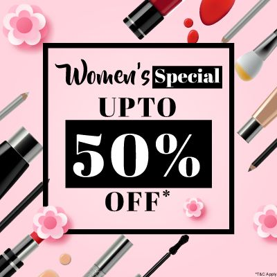 Women's Special Sale- Celebrate The Incredible Superwomen This Month With Grand Offers & Deals