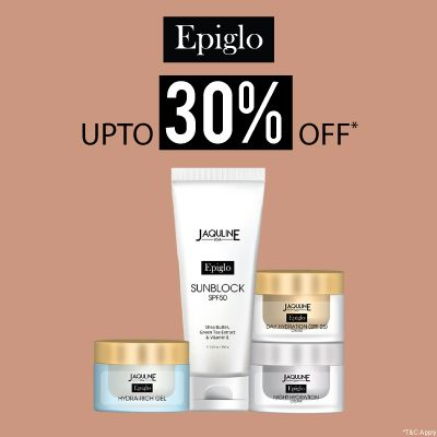 Jaqulineusa Epiglo- Discover The Epic Glow With 'upto 30% Off' On Jaqulineusa Skincare Range: Epiglo