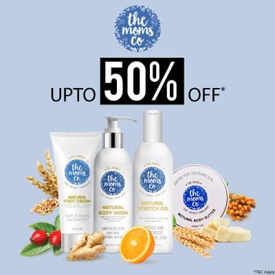 The Moms Co- Avail Knockout Deal Of The Month-upto 50% Off On The Moms Co Skincare Must-haves