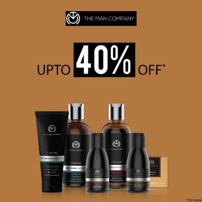The Man Company- Take Your Men's Grooming Game Up A Notch With 'upto 40% Off' Bumper Deal On Its Essentials