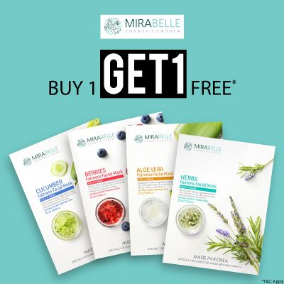 Mirabelle- Treat Your Skin With A Blockbuster Offer Of 'buy1get1free' On Mirabelle Must-haves