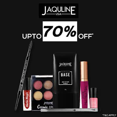 Jaqulineusa- Boost Your Glam Factor By Availing *upto 70% Off* Knockout Offer On Jaqulineusa Bestsellers