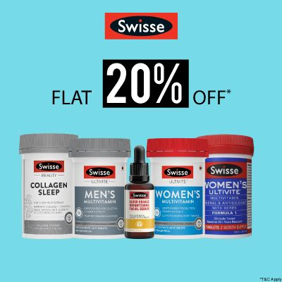 Swisse- Power Up Your Immunity With 'flat 20% Off' On Swisse Health And Wellness Range