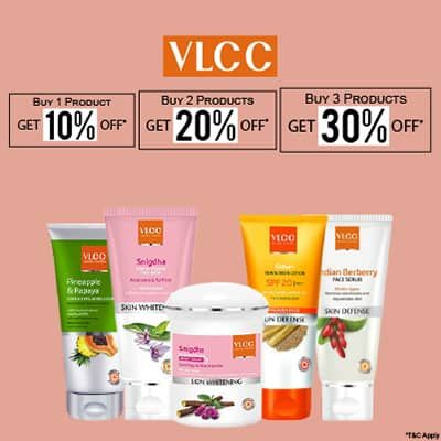 Vlcc- Power Up Your Skincare Regime With This Ultimate Offer On Vlcc Range