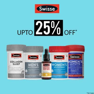 Swisse- Power Up Your Immunity With 'upto 25% Off' On Swisse Health And Wellness Range