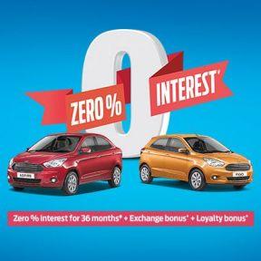 Zero % Interest
