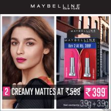 Maybelline Creamy Mattes