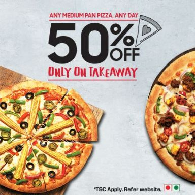Wow Take Away 50% Off