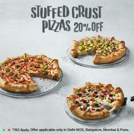 Stuffed Crust Pizzas